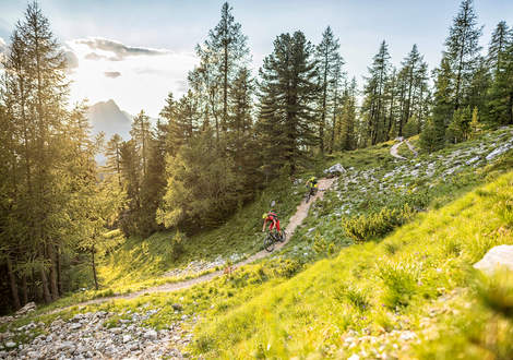 Trail N°15 in Alta Badia