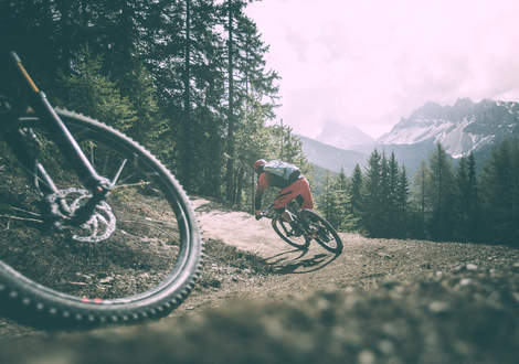 Trails in der Mountainbike Region Brixen