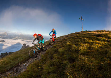Trails in Kronplatz Dolomiten