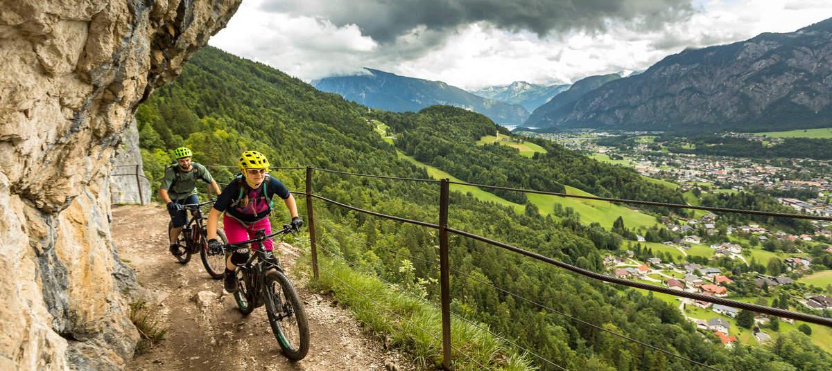 Mountainbike Zugspitz Arena - YouTube