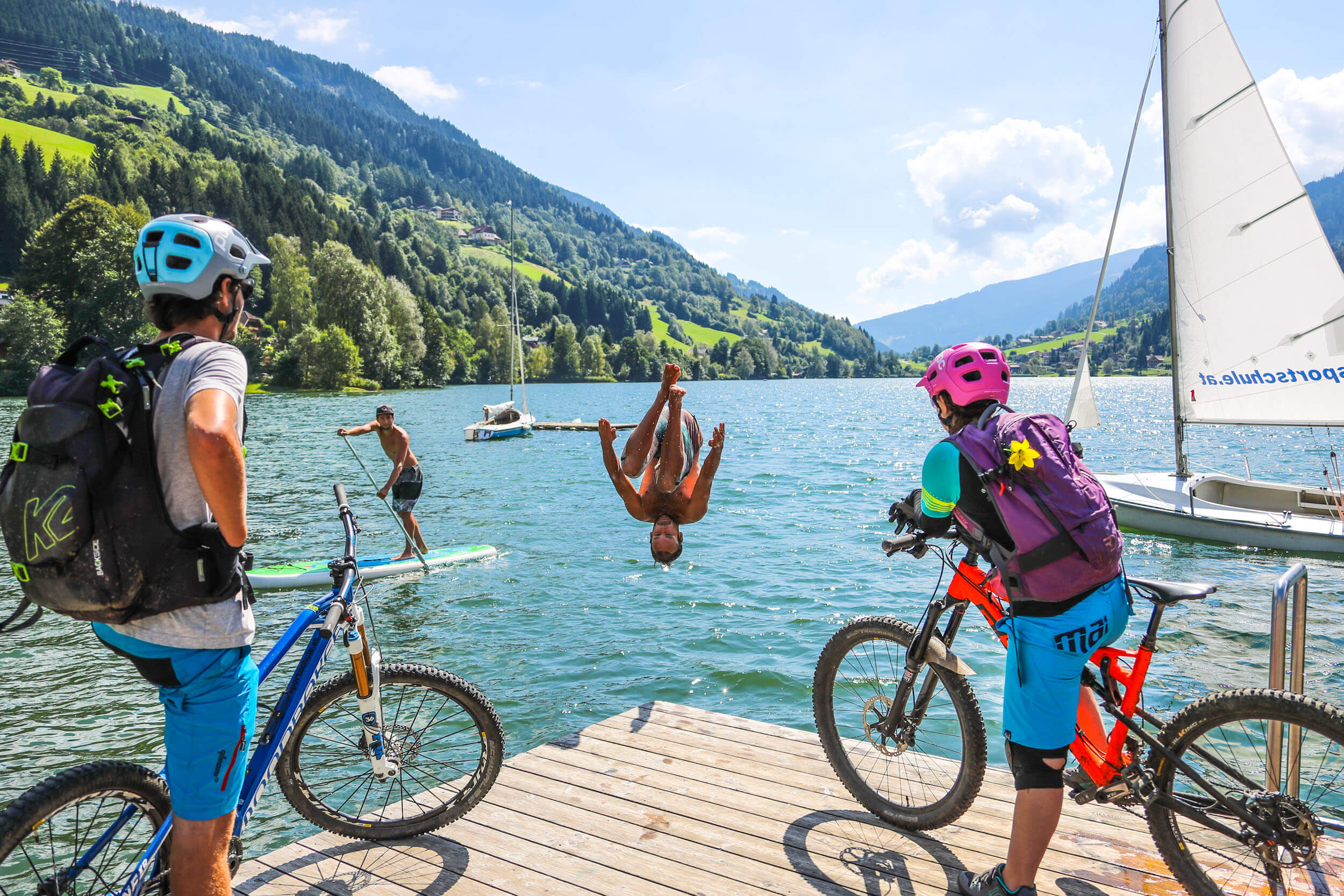Carinthia Mountain Biking Holidays Bike Hotels For Your Mtb Holiday Mrb Crystal Make Up Base